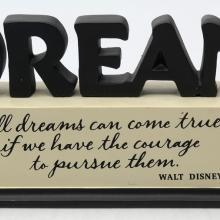 Walt Disney Quote Display - ID: jundisneyana20207 Disneyana
