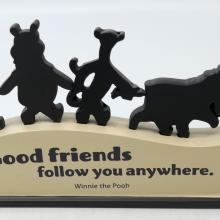 Winnie the Pooh Disney Quote Display - ID: jundisneyana20208 Disneyana