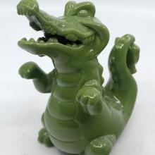 Peter Pan Tick Tock Ceramic Figurine - ID: jundisneyana20226 Disneyana
