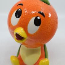 Orange Bird Adventureland Ceramic Figurine - ID: jundisneyana20232 Disneyana