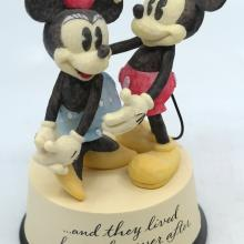 Mickey and Minnie Happily Ever After Statuette - ID: jundisneyana20239 Disneyana