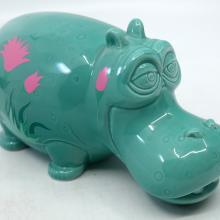 It's a Small World Ceramic Hippopotamus - ID: jundisneyana20251 Disneyana