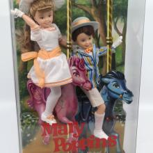 Mary Poppins Jane and Michael Barbie Dolls - ID: jundisneyana20257 Disneyana