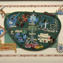 Disneyland 45th Anniversary Cast Member Pin Set - ID: jundisneyana20296 Disneyana