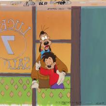 Goof Troop Production Cel and Background - ID: jungooftroop20232 Walt Disney