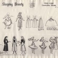 Sleeping Beauty Photostat Model Sheet - ID: junmodel20100 Walt Disney