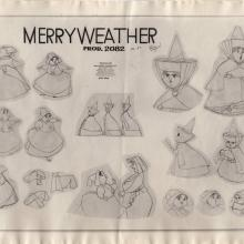 Sleeping Beauty Photostat Model Sheet - ID: junmodel20111 Walt Disney