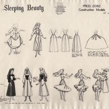 Sleeping Beauty Photostat Model Sheet - ID: junmodel20118 Walt Disney