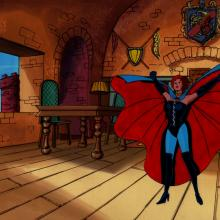 X-Men Production Cel & Background - ID: junxmen027 Marvel
