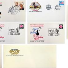Set of Disneyland Envelopes with Stamps - ID: mardisneyland20038 Disneyana