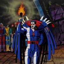X-Men Production Cel & Background - ID: mayxmen20511 Marvel