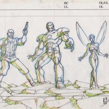 Ultimate Avengers Layout Drawing - ID: MLG100170 Marvel