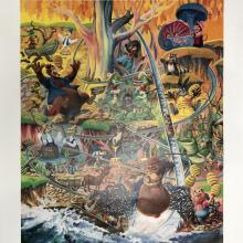 Lauffin' Place Poster Print - ID: octboyer20150 Disneyana