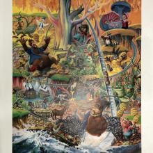 Lauffin' Place Poster Print - ID: octboyer20151 Disneyana