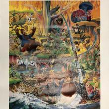 Lauffin' Place Poster Print - ID: octboyer20153 Disneyana