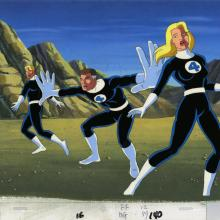 Fantastic Four Production Cel - ID: octfantasticfour20039 Marvel