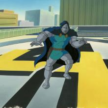 Fantastic Four Production Cel and Background - ID: octfantfour20239 Marvel