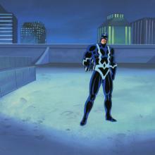 Fantastic Four Production Cel and Background - ID: octfantfour20245 Marvel