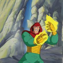 Fantastic Four Production Cel and Background - ID: octfantfour20314 Marvel