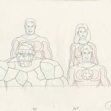Fantastic Four Production Drawing - ID: octfantfour20467 Marvel