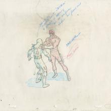 Fantastic Four Production Drawing - ID: octfantfour20468 Marvel