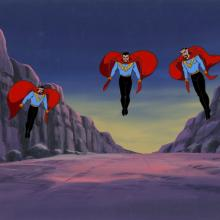 The Incredible Hulk Production Cel and Background - ID: octhulk20111 Marvel