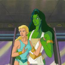Incredible Hulk Production Cel and Drawing - ID: octhulk20427 Marvel