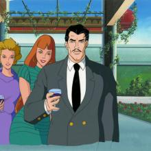 Iron Man Production Cel and Background - ID: octironman20358 Marvel