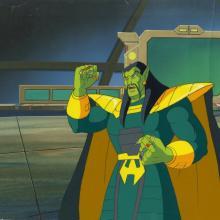 Iron Man Production Cel and Background - ID: octironman20365 Marvel