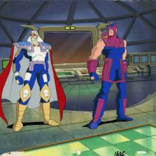 Iron Man Production Cel and Background - ID: octironman20373 Marvel