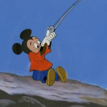 The Simple Things Production Cel - ID: octmickey3163 Walt Disney