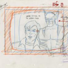 X-Men Layout Drawing - ID: octxmen20054 Marvel