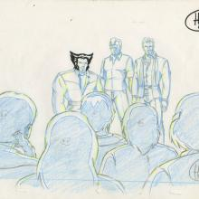 X-Men Production Drawing - ID: octxmen20056 Marvel