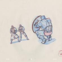X-Men Production Drawing - ID: octxmen20059 Marvel