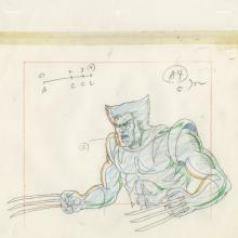 X-Men Layout Drawing - ID: octxmen20064 Marvel