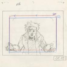 X-Men Layout Drawing - ID: octxmen20069 Marvel