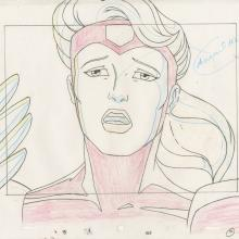 X-Men Layout Drawing - ID: octxmen20076 Marvel