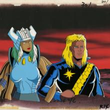 X-Men Production Cel - ID: octxmen20080 Marvel