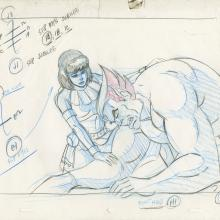 X-Men Production Drawing - ID: octxmen20094 Marvel