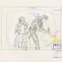 X-Men Layout Drawing - ID: octxmen20100 Marvel