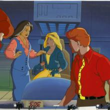 X-Men Production Cel and Background - ID: octxmen20119 Marvel