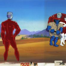 X-Men Production Cel and Background - ID: octxmen20120 Marvel