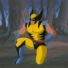 X-Men Production Cel and Background - ID: octxmen20215 Marvel