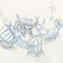 X-Men Production Drawing - ID: octxmen20222 Marvel