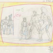 X-Men Layout Drawing - ID: octxmen20223 Marvel