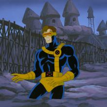 X-Men Production Cel and Background - ID: octxmen20224 Marvel