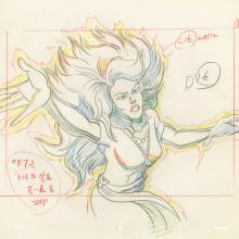 X-Men Layout Drawing - ID: octxmen20471 Marvel