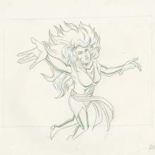 X-Men Layout Drawing - ID: octxmen20473 Marvel