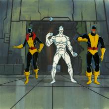 X-Men Production Cel Set-Up - ID: octxmen20510 Marvel