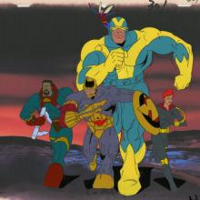 X-Men Production Cel - ID: octxmen20520 Marvel